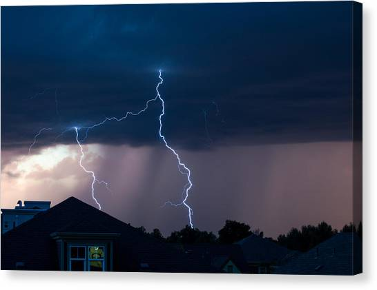 Lightning 2 Canvas Print