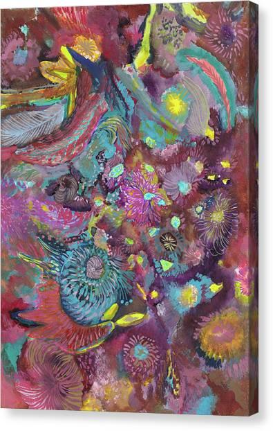 Lightning - #ss18dw020 Canvas Print by Satomi Sugimoto