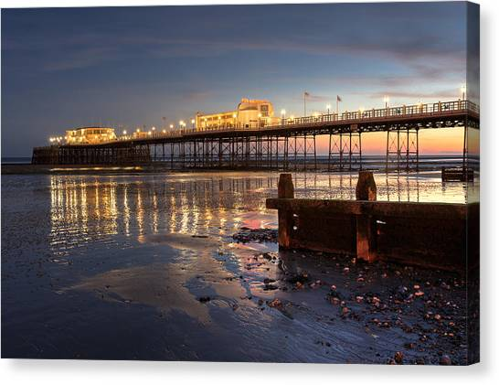 Lights At Dusk Canvas Print