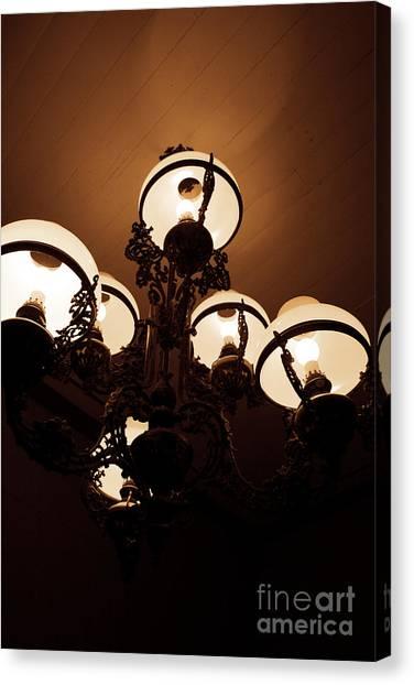 Murky Canvas Print - Lights Of Darkness by Jorgo Photography - Wall Art Gallery