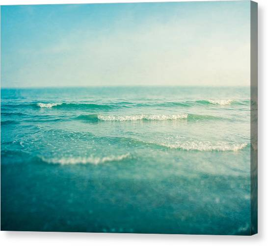 Waves Canvas Print - Like A Dream by Violet Gray