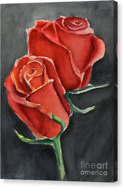 Like A Rose Canvas Print