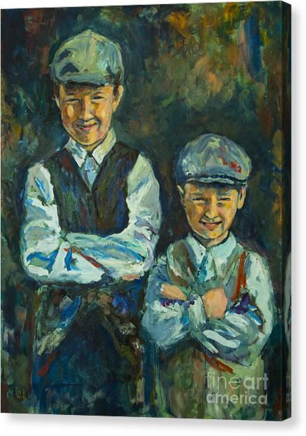 Durham Boys Canvas Print