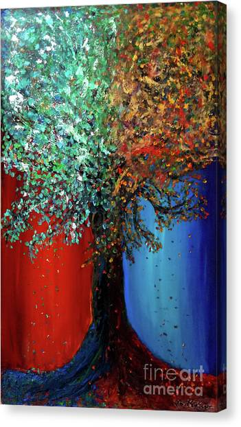 Like The Changes Of The Seasons Canvas Print