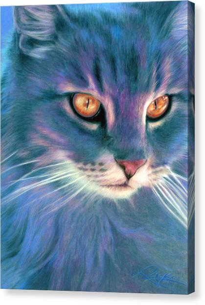 Lilac Cat Canvas Print