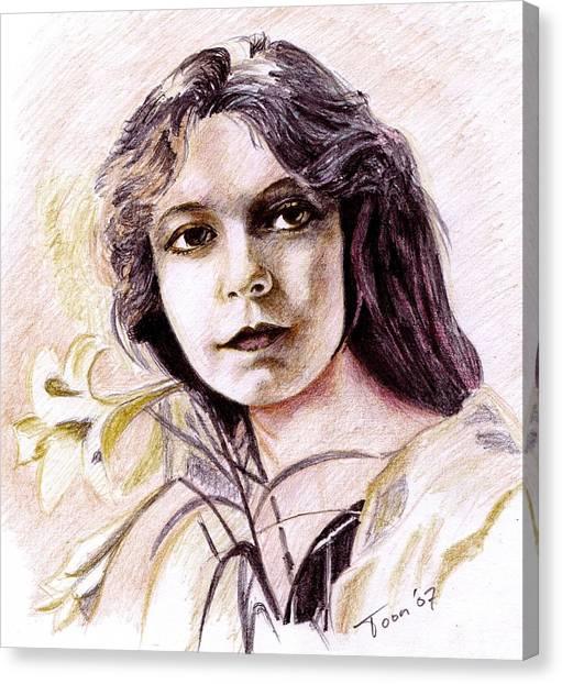 Lilian Gish Canvas Print