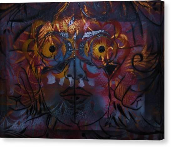 Lillys Glow Box   Canvas Print by Dorian Williams