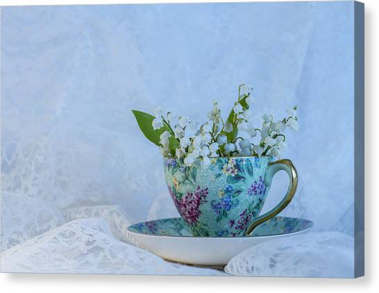Lily Of Valley Canvas Print