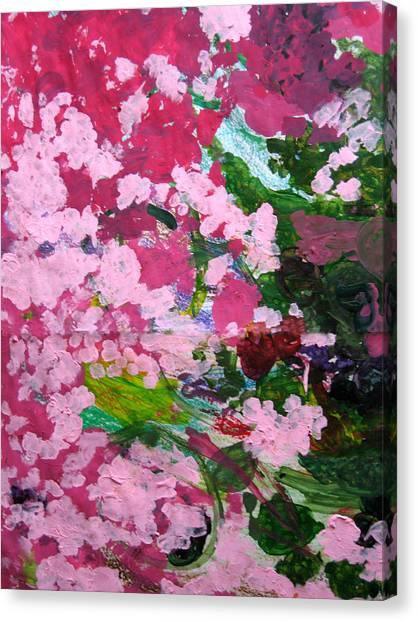 Lily Pads Canvas Print by Kim Putney