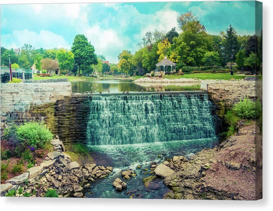 Lime Kiln Park Waterfall Canvas Print