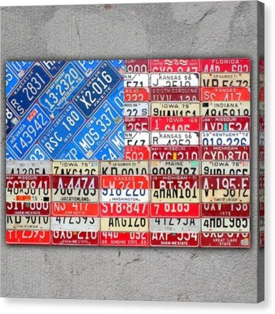 Flags Canvas Print - Limited Time Offer: This 40 X 30 Canvas by Design Turnpike