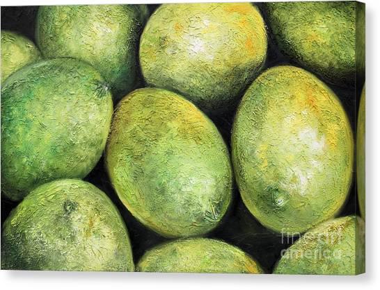 Limones Canvas Print