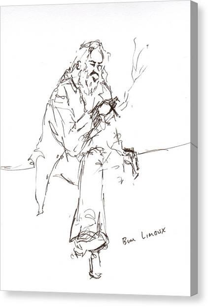 Limoux Bum Canvas Print by Diane Daigle