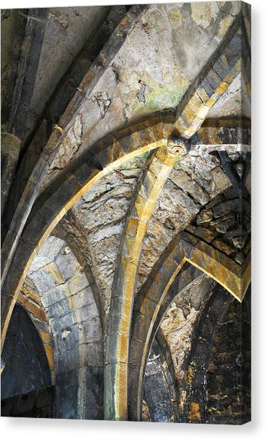 Lincoln Castle England Canvas Print by Tom  Wray