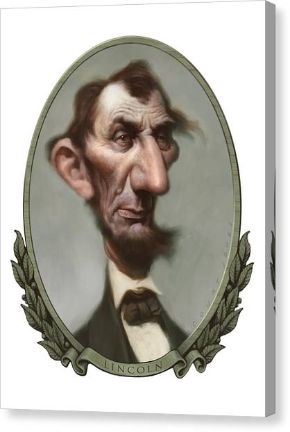 Lincoln Canvas Print by Court Jones