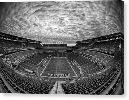 Superbowl Canvas Print - Lincoln Financial Field by Robert Hayton
