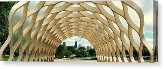 Lincoln Park Zoo Nature Boardwalk Panorama Canvas Print