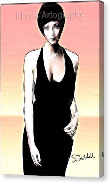 Linda Thorson Canvas Print