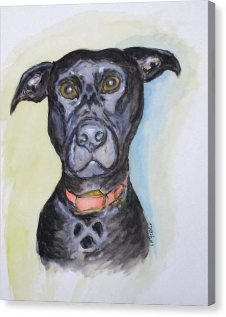 Linda's Doggie Canvas Print