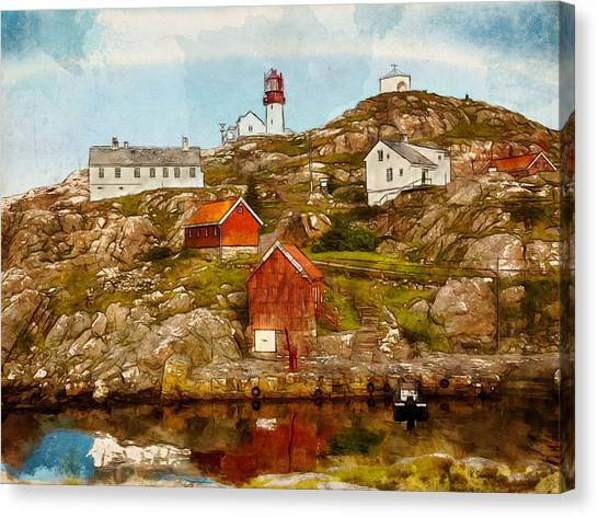 Lindesnes Lighthouse Canvas Print