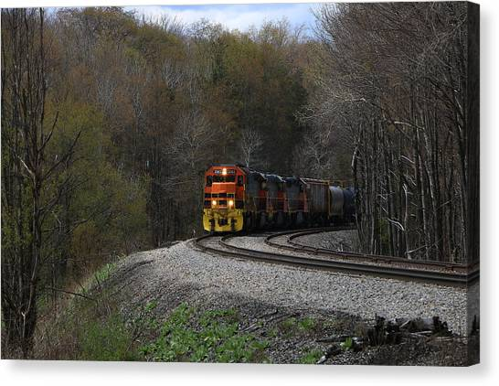 Lindholm Train Canvas Print