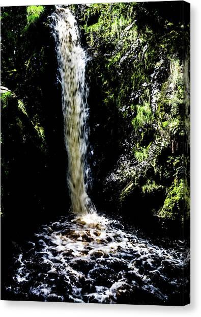 Linhope Spout Waterfall Canvas Print