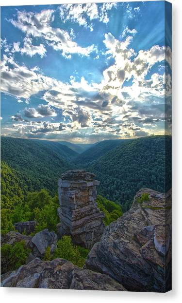 Lindy Overlook Canvas Print