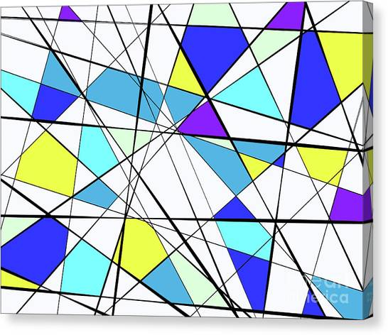 Blue Triangle Canvas Prints (Page #65 of 79) | Fine Art America