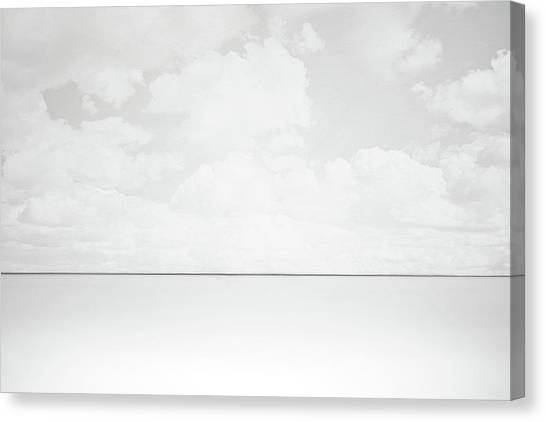 Minimalist Canvas Print - Line Of Sight by Scott Norris