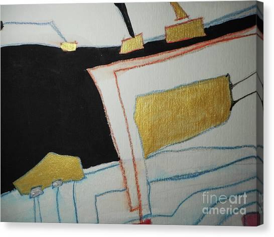 Linear-2 Canvas Print