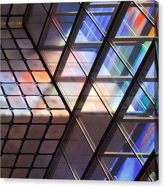 Museums Canvas Print - Lines & Colours by Jeroen Van De Wiel
