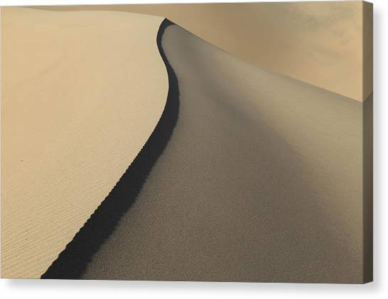 Lines In The Sand. Canvas Print