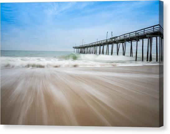 Outer Banks North Carolina Pier  Canvas Print