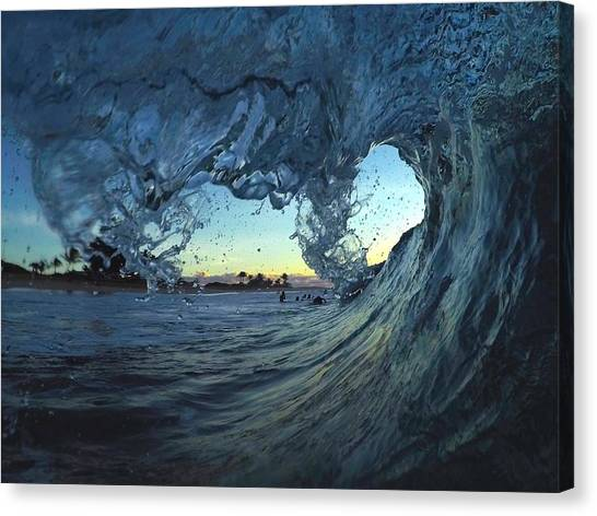 Bodyboard Canvas Print - Lines Of Love by Benen  Weir
