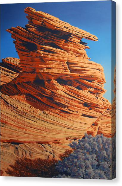 Lines Of Time Canvas Print