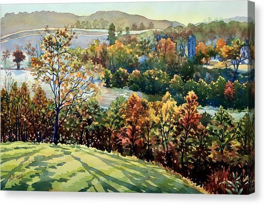 Linganore Dew Canvas Print