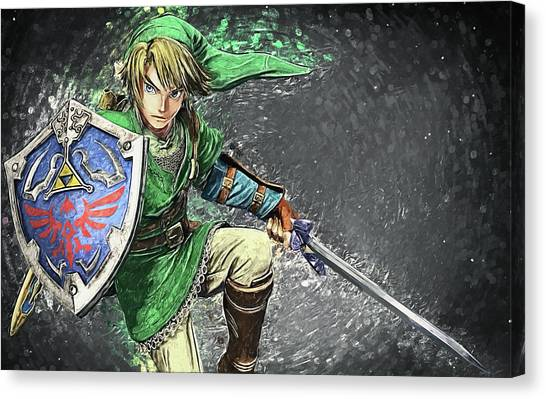 Xbox Canvas Print - Link by Zapista