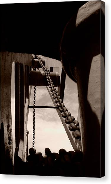 Jibbing Canvas Print - Link To The Jib by Brian Roscorla