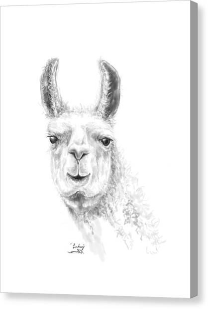 Canvas Print - Linsdey by K Llamas
