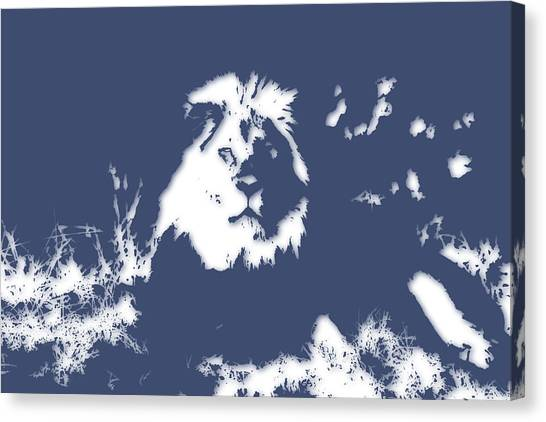 Mount Kilimanjaro Canvas Print - Lion 2 by Joe Hamilton