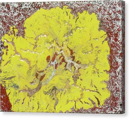 Lion Flower Canvas Print