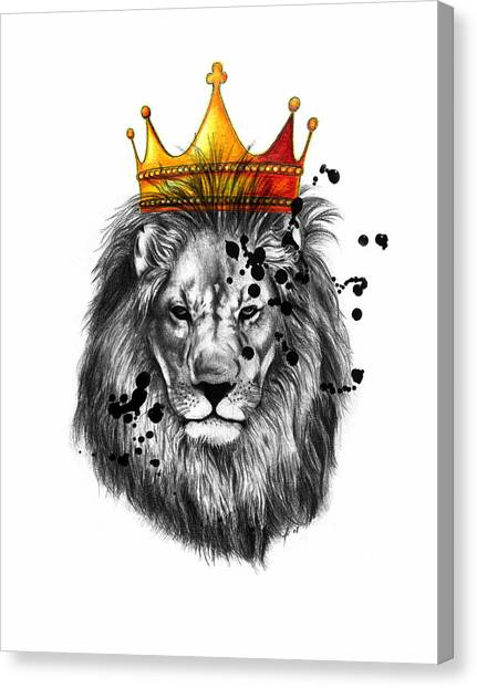 Canvas Print - Lion King  by Mark Ashkenazi