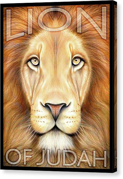 Lion Of Judah Canvas Prints | Fine Art America