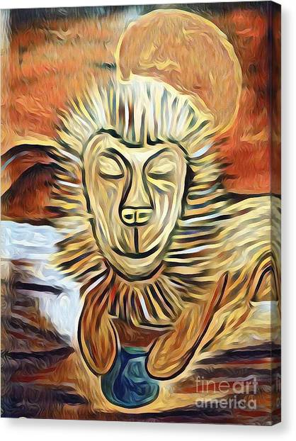 Lion Of Judah II Canvas Print