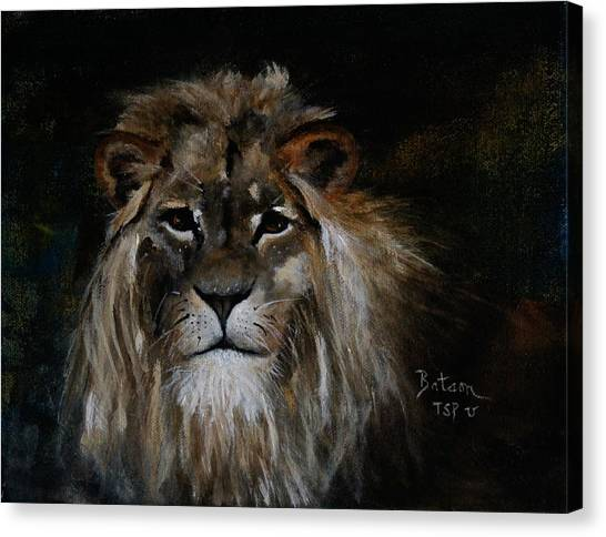 Sargas The Lion Canvas Print