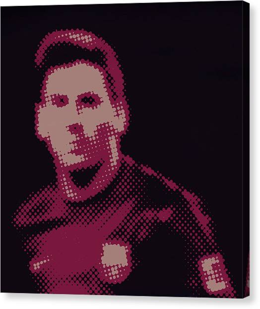 Lionel Messi Canvas Print - Lionel Messi  by Art Spectrum