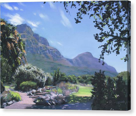 Kirstenbosch View Canvas Print