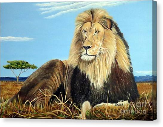 Lions Pride Canvas Print