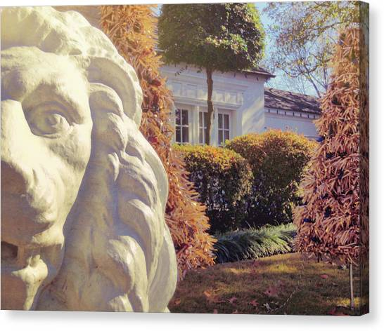 Lions View Of Graceland Canvas Print by JAMART Photography