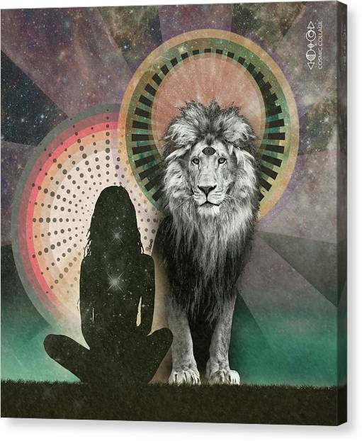 Portal Canvas Print - Lionsgate Portal by Lori Menna
